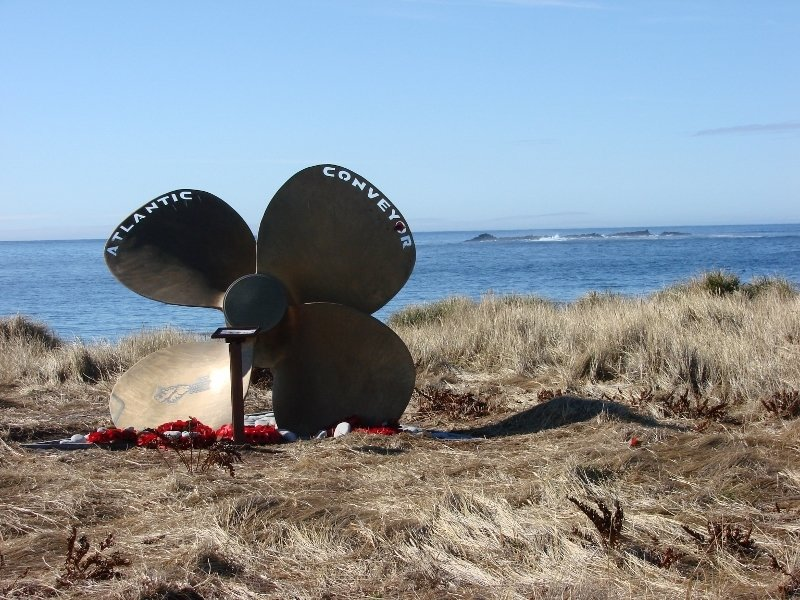Atlantic Conveyor Memorial, Cape Pembroke