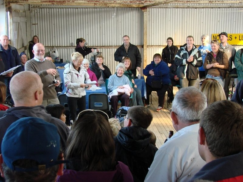 Fitzroy Sheep Show Prize Winners