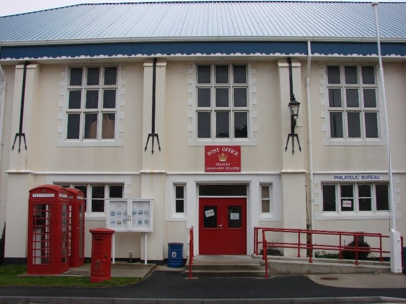 Falkland Islands Post Office/Council Chamber/Town Hall Building