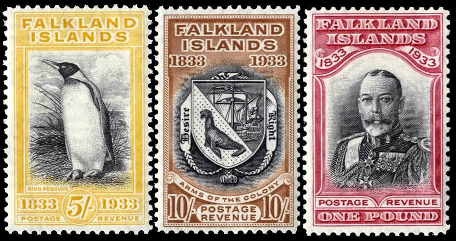 Centenary Stamps