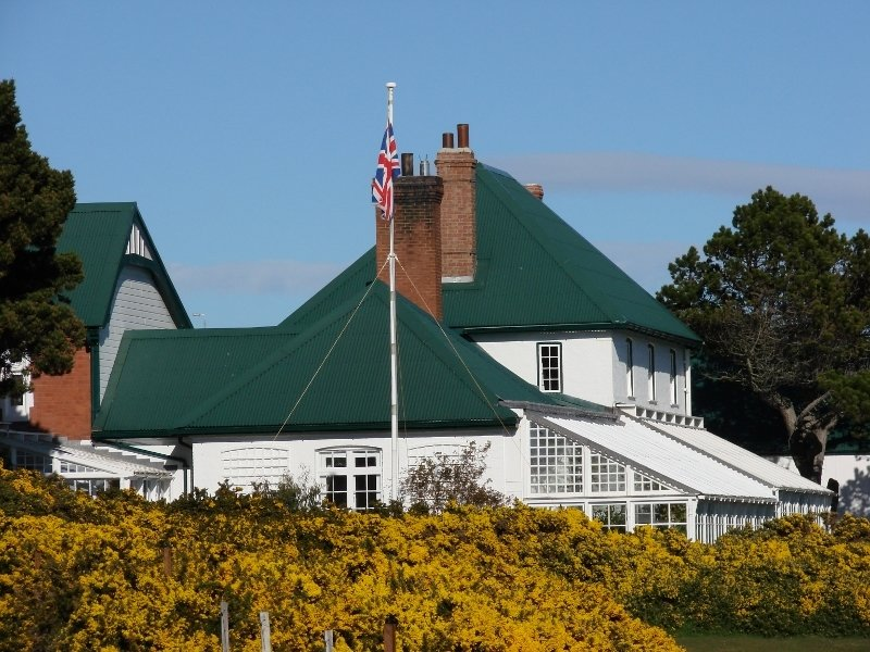 Government House through the Gorse