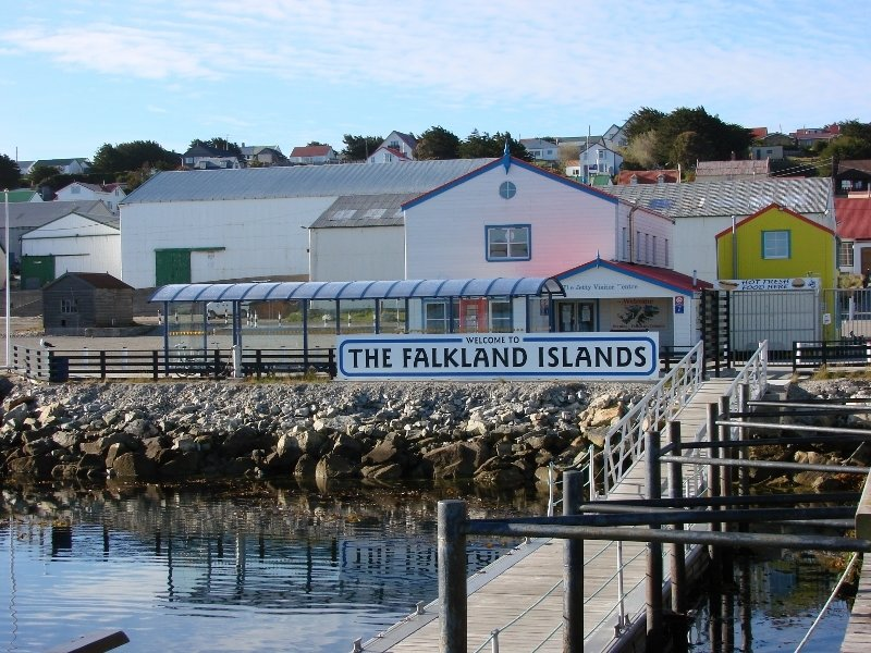 Jetty Centre - Falkland Islands Sign
