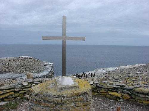 HMS Sheffield Memorial, Sea Lion Island