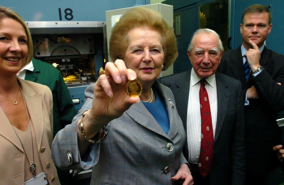 Margraet Thatcher Coins